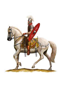Всадник конной гвардии императора II в. н.э.