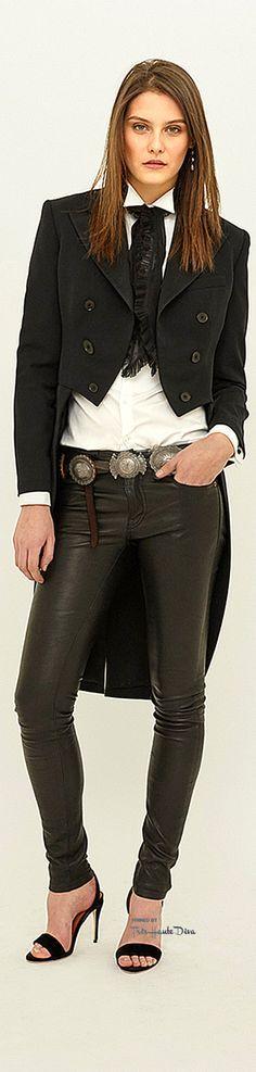 Polo Ralph Lauren Fall/Winter 2015-16 RTW  ♔ Très Haute Diva women fashion outfit clothing style apparel @roressclothes closet ideas