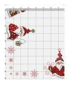 ru / Фото - ***** - celita by tammi Xmas Cross Stitch, Cross Stitch Borders, Cross Stitch Charts, Cross Stitch Designs, Cross Stitching, Cross Stitch Embroidery, Cross Stitch Patterns, Christmas Sewing, Christmas Embroidery