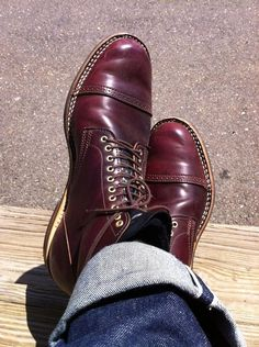 0aedbf4a7a18 Shell Cordovan Viberg Boots Viberg Boots