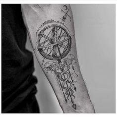 Amazing Science Tattoo | Venice Tattoo Art Designs