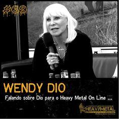 """Força Metal BR: Wendy Dio: """"Biografia sobre a vida de Dio fica pro..."""