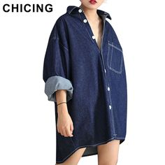 Denim Jeans Blouses Boyfriend Style | $ 38.94 | Item is FREE Shipping Worldwide! | Damialeon | Check out our website www.damialeon.com for the latest SS17 collections at the lowest prices than the high street | FREE Shipping Worldwide for all items! | Get it here http://www.damialeon.com/chicing-women-denim-jeans-blouses-2016-spring-boyfriend-style-casual-turn-down-collar-loose-blue-chambray-shirts-b1604007/ |      #damialeon #latest #trending #fashion #instadaily #dress #sunglasses #blouse…