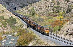 RailPictures.Net Photo: BNSF 6222 Burlington Northern Santa Fe GE ES44AC at Kuyne, Utah by Peter Wright