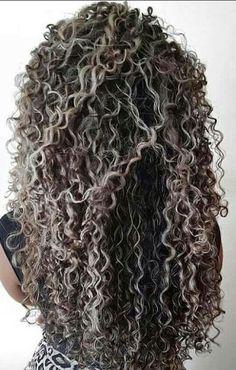 New Hair Color Black Gray Curls Ideas Blonde Curly Hair, Colored Curly Hair, Hair Color For Black Hair, Pelo Color Plata, Curly Hair Styles, Natural Hair Styles, Hair Color Balayage, Silver Hair, Hair Hacks