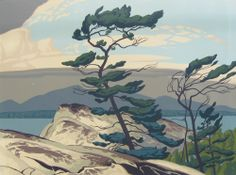 White Pine (1957) by the Group of Seven