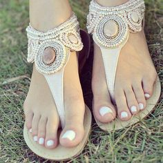 nice sandals... could work for a woman or tween.