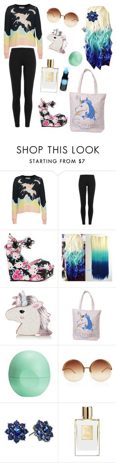 """""""Untitled #24"""" by irmazv ❤ liked on Polyvore featuring beauty, Wildfox, Polo Ralph Lauren, Iron Fist, Eos, Linda Farrow, Hard Candy and Nina"""
