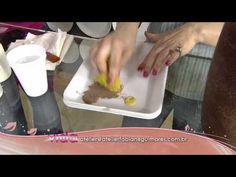 Veja como criar a técnica de pintura estilo ferrugem em vidro! - YouTube