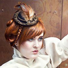 Bowler Hat Ester  Steampunk Art Nouveau by RosiesHouseOfSteam, $50.68