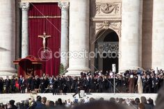 Editorial stock photo available for sale at Depositphotos: The Pope Francis Inauguration Ceremony