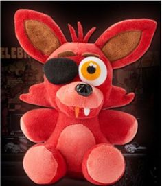 """Hot FNAF Five Nights at Freddy's FOXY PIRATE Plush Toy 7"""" 18CM #new"""
