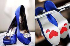 Something blue wedding Heels. Blue Wedding Shoes, Wedding Heels, Red Wedding, Wedding Stuff, Wedding Things, July Wedding, Wedding Dreams, Wedding Attire, Luxury Wedding