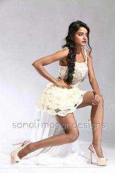 Jute silk net fabric.. a handmade statement dress to make you feel yourself.