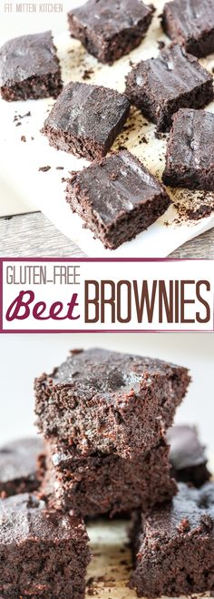 Gluten-Free Beet Brownies [Fit Mitten Kitchen]