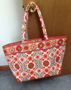 VERA BRADLEY Grand Tote Bag * Folkloric NEW Travel Vacation Gym Baby Crossfit | eBay