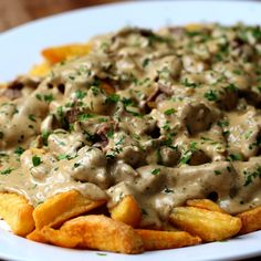Creamy Peppercorn Steak Fries - go vote in our Story Poll! Creamy Peppercorn Sauce, Peppercorn Steak, Cookbook Recipes, Beef Recipes, Cooking Recipes, Dinner Entrees, Dinner Recipes, Outdoor Griddle Recipes, Vegetable Base Recipe