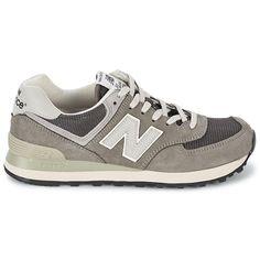 Discount New Balance 574 Men's Grey White Ml574 http://www.new-balance-factory-store.com/new-balance-574-mens-grey-white-ml574-p-97.html