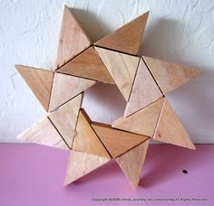 Wooden Block Patterns | Journey Into Unschooling