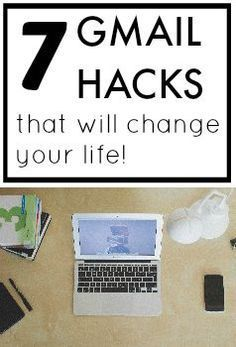 Check out these 7 top Gmail hacks to make your email more efficient and effective! Who knew Gmail had all these hidden features! hacks, 7 Gmail Hacks That Will Change Your Life Computer Help, Der Computer, Computer Tips, Computer Programming, Computer Hacking, Computer Gadgets, Computer Lessons, Computer Basics, Computer Security