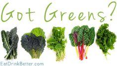 Calcium Rich Foods: Got Greens? @Karen Babb and Glitter