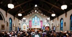 Great use of Tilt-Shift in a Church Wedding