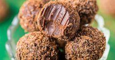 Domáce výborné čokoládové pralinky s kávovým likérom a smotanou