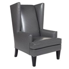 Pebble Accent Chair from Z Gallerie...thinking about two of these for the new room...not sure if they are too high? But kinda love them