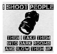 Shoot then Blow.. Absolutely! HAHA!