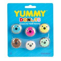 YUMMY Donut Erasers