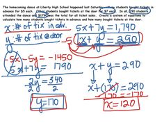 system of equations word problems | Projects to Try | Pinterest ...