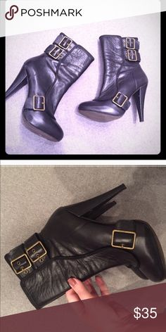 (( GORGEOUS ALDO BOOTS ♥️‼️))  (( GORGEOUS ALDO BOOTS ♥️‼️))  BARELY WORN  LOVED !!!  Aldo Shoes Heeled Boots