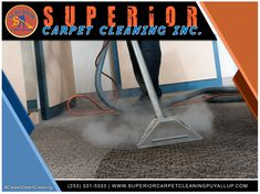Here at Superior Carpet Cleaning Inc., we inject an all-natural exclusive solution that reaches up to 240 degrees, deep into your carpet fibers, removing the deepest, toughest, stains and dirt. Each carpet is then rinsed with a neutralizer which further removes any residue, then we post groom the carpet pile to its natural state giving it a standing tall fullness.
