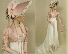 Enchanted Serenity of Period Films: Crawford Manor - Custom made Dolls ~ Rebecca (Regency era)