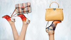 fendi spring 2014 campaign16 Nadja Bender + Joan Smalls Star in Fendi Spring 2014 Ads