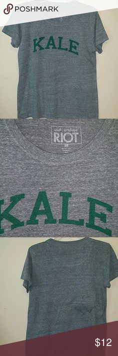 URBAN RIOT GRAPHIC KALE TEE Awesome cotton tee, very soft and comfy Tops Tees - Short Sleeve