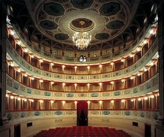 San Severino Marche. Teatro Feronia