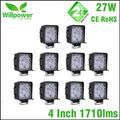 10 PCS 4 Inch 27W LED Work Light 12V IP67 Spot Beam 4x4 Offroad Truck LED Driving Light car Light-in Car Light Assembly from Automobiles & Motorcycles on Aliexpress.com   Alibaba Group