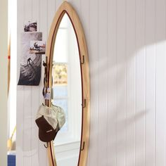 Any surf girl needs a cool mirror.