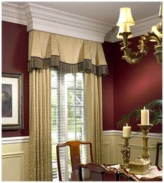 Dining Room Window Treatment Living Windows Curtains Traditional Rooms