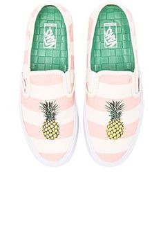 On The Net Landscape Design And Style - The New On-line Tool That Designers Are Flocking To For Landscape Designs Vans Slip On Sf Sneaker In Pale Pink and Pineapple Revolve Pineapple Vans, Pineapple Clothes, Pineapple Girl, Painted Vans, Painted Shoes, Vans Slip On, Slip On Sneakers, Cute Shoes, Me Too Shoes