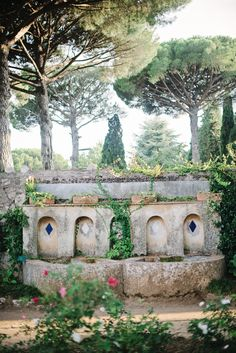 Gardens at the Villa Cimbrone of Ravello Italy | photography by http://rochellecheever.com/