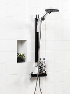 Duschset från Coloric i färgen Sinful Black Shower Set, Sink, Home Appliances, Design, Home Decor, Black, Sink Tops, House Appliances, Vessel Sink