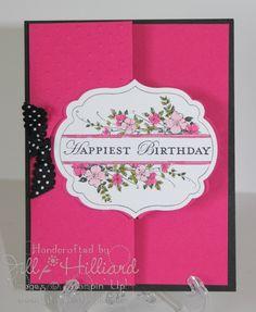 Jill's Card Creations: Fun Fold Happy Birthday!-tutorial