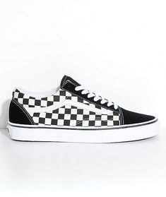 New Vans Old Skool Black  amp  White Checkered Skate Shoes Men s Sz 5 Wmn s  Sz 2073612b9