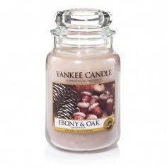 Yankee Candle Large Jar - Ebony and Oak