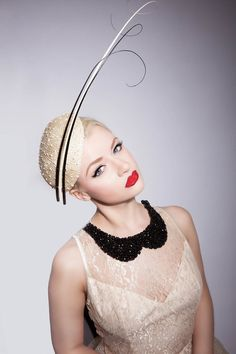 Jessika Hill Couture Millinery   HAMPSHIRE - El Jardin Collection