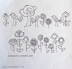 Birdies and flowers 1 http://judycooper.blogspot.ca/