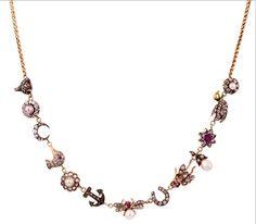 Annina Vogel charm necklace
