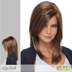 like the color! Cute Medium #Hair Cut for Girls,  Go To www.likegossip.com to get more Gossip News!